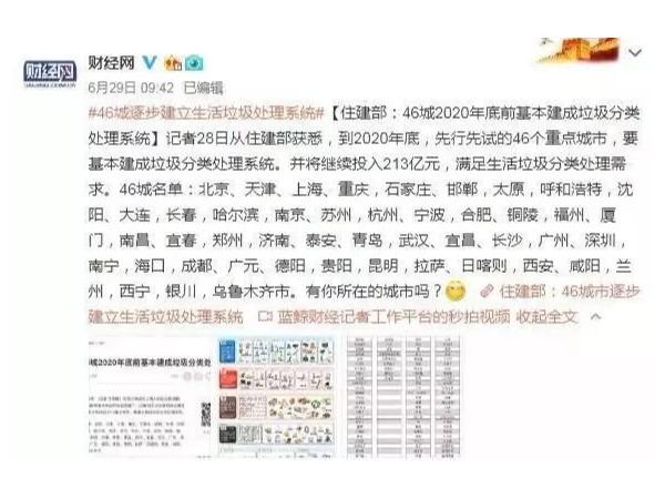 上海推出最严垃圾分类法,别笑,马上就轮到你了……