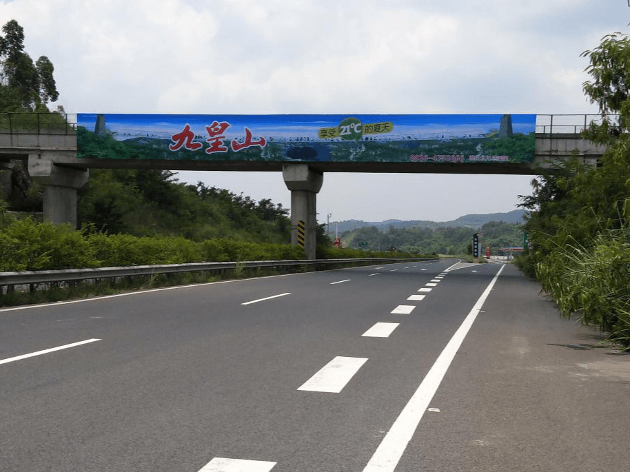 高速跨线桥广告怎么投?新天杰案例告诉你