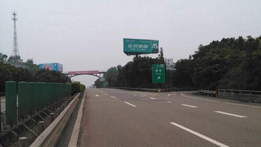 隆纳高速泸州出口高速路媒体