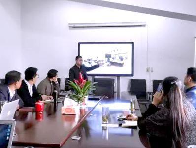 北京中瑞盛世投资公司莅临新天杰股份考察调研